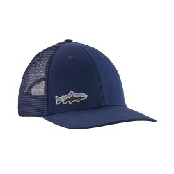 Small Fitz Roy Fish LoPro Trucker Hat Patagonia