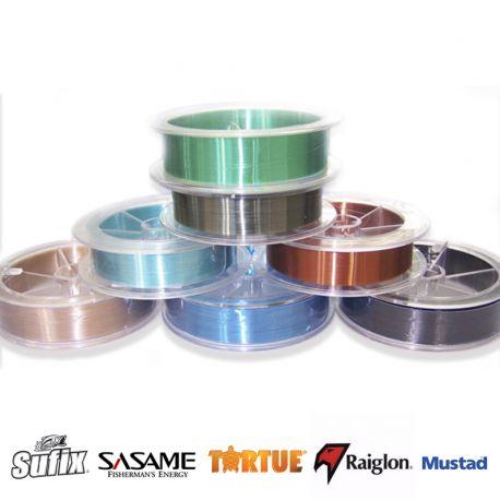 Nylon SUFIX-SASAME-TORTUE-RAIGLON-MUSTAD