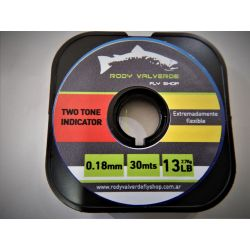 Tippet Bicolor Rody Valverde Fly Shop